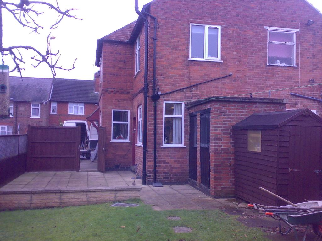 Conservatory and utility room extension in Leicester by ...